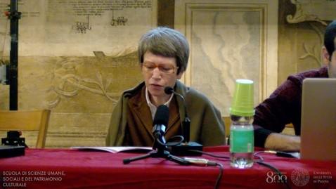 Thumbnail for entry Settimana per il miglioramento della didattica 2019 - Prof.ssa Maria Grazia Crepaldi