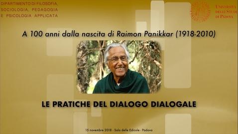 Thumbnail for entry Le pratiche del dialogo dialogale - Saluti istituzionali