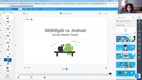 Thumbnail for entry Creare presentazioni animate con il software Powtoon