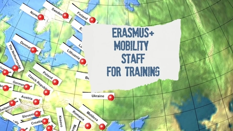 Thumbnail for entry Erasmus+ Staff Mobility for Training