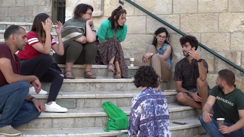 Thumbnail for entry Interview with Martina and Cesare, Civil Peace Corps Volunteers, Bethlehem, Palestine, July 2019