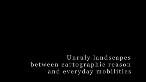 Thumbnail for entry S4 - #2 WILMOTT_Unsettling landscapes: kicking up the dust in everyday digital media mobilities