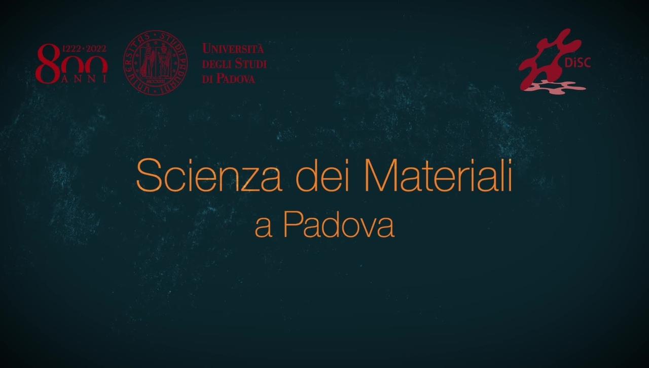 Scienza dei Materiali a Padova