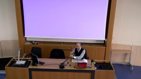 Thumbnail for entry Istituzioni di Diritto Pubblico 11.10.2018
