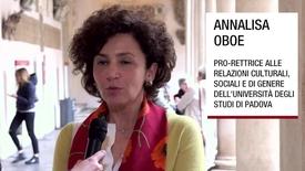Thumbnail for entry Intervista ad Annalisa Oboe, Padova, 8 aprile 2019
