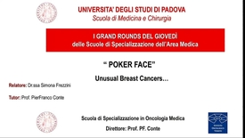 Thumbnail for entry POKER FACE - Unusual Breast Cancers…