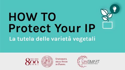 Thumbnail for entry La tutela delle varietà vegetali