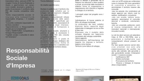 Thumbnail for entry Capitale sociale e comunità di valore nel Veneziano 30 sec