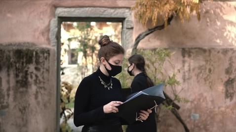 Thumbnail for entry 01. Andromaca da Euripide. Il progetto di Ateneo dedicato alla tragedia greca in Orto botanico