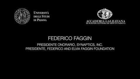 Thumbnail for entry Federico Faggin - La natura della realtà - Prima parte