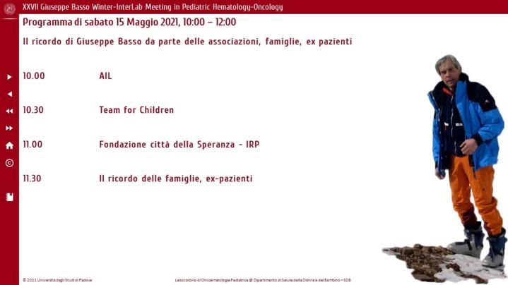 Thumbnail for channel Laboratorio di Oncoematologia Pediatrica