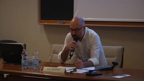 "Thumbnail for entry Carlo Enrico Roggia: ""Fosforo"""