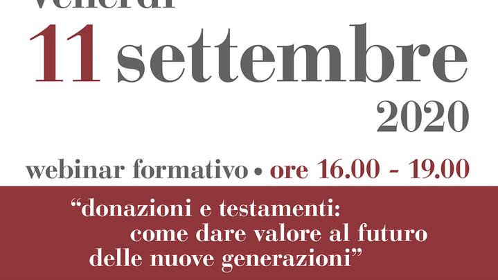 Thumbnail for channel Donazioni e testamenti