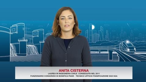Thumbnail for entry Laurea in Ingegneria Civile - Testimonial Anita Cisterna