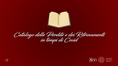 Thumbnail for entry Silvia Losego - Alla Ricerca dell'Ascolto Perduto: un Prezioso Ritrovamento al Tempo del Covid-19