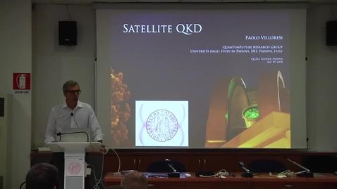 Thumbnail for entry 03 Paolo Villoresi - Satellite QKD