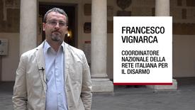Thumbnail for entry Intervista a Francesco Vignarca, Padova, 27 marzo 2019