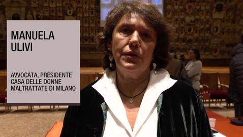 Thumbnail for entry Intervista a Manuela Ulivi, Avvocata, 6 novembre 2018