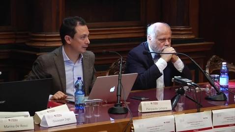 Thumbnail for entry Pierpaolo Limone - Le ICT nella didattica universitaria/ Pier Giuseppe Rossi - Prospettive e significati dell'innovazione didattica in Higher Education:  modelli, format, tecniche e strumenti