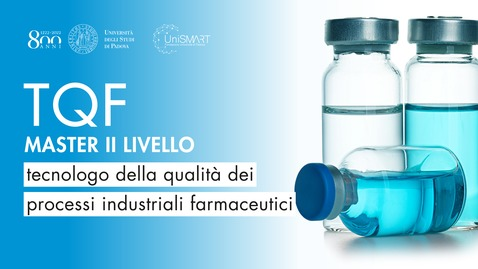 Thumbnail for entry Open Day Master TQF - Tecnologo della qualità dei processi industriali farmaceutici