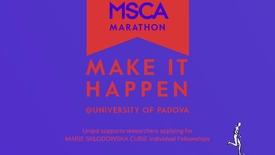 Thumbnail for entry Marie Sklodowska Curie Marathon