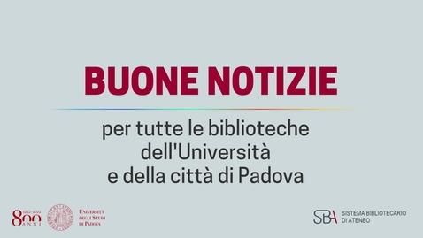 Thumbnail for entry GalileoDiscovery: il  nuovo strumento di ricerca bibliografica