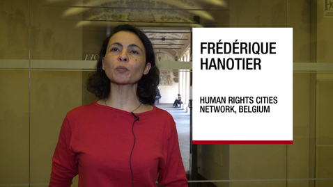 Thumbnail for entry Interview to Frédérique Hanotier , Padova, 27 November 2018