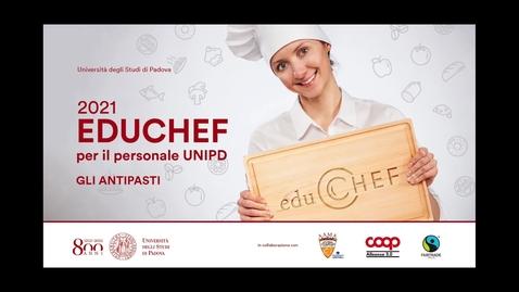 Thumbnail for entry EDUCHEF - GLI ANTIPASTI