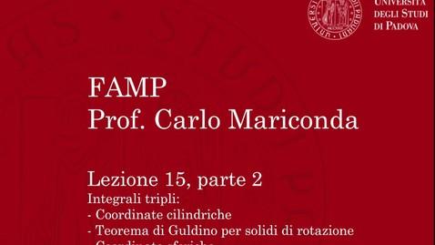 Thumbnail for entry FAMP - Lezione 15, parte 2