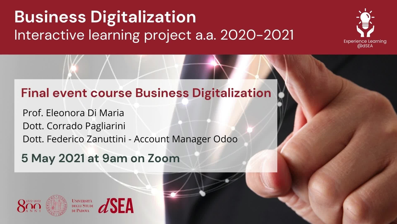 Business Digitalization - Interactive learning project A.Y. 2020/21
