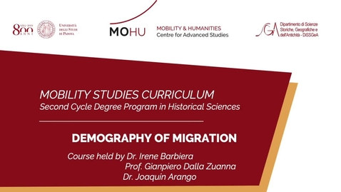Thumbnail for entry #mobilitystudies - Demography of migration