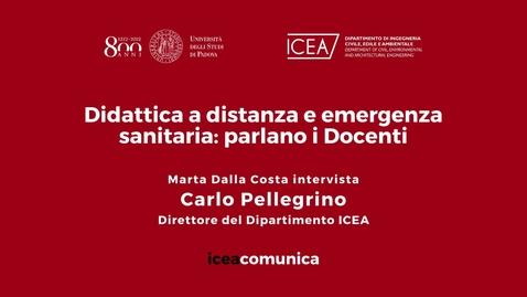 Thumbnail for entry Iceacomunica intervista il Professore Carlo Pellegrino
