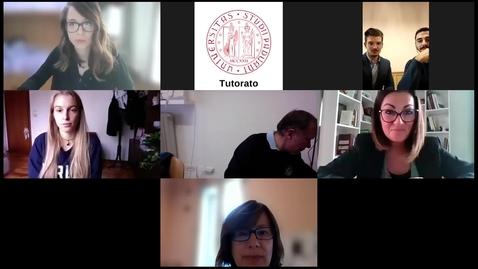 Thumbnail for entry carriere studenti e segreteria didattica: giurisprudenza tv + diritto e tecnologia