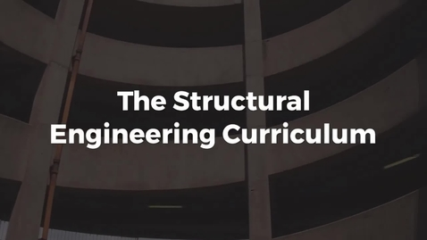 Thumbnail for entry Presentation of the Structures Curriculum