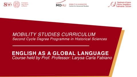 Thumbnail for entry English as a Global Language - Professor: Larysa Carla Fabiano