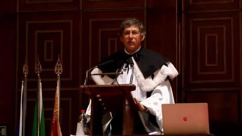 Thumbnail for entry Cerimonia di consegna dei diplomi galileiani (2017)