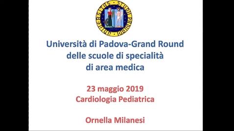 Thumbnail for entry Cardiologia pediatrica