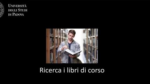 Thumbnail for entry Geoscienze - Cerca in GalileoDiscovery: i libri di corso (ITA/ENG)