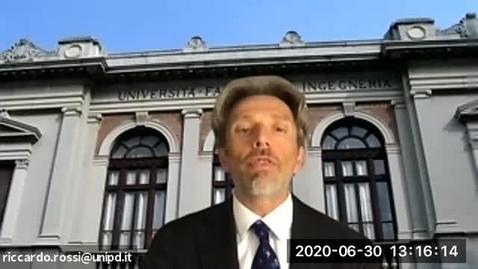 Thumbnail for entry Il Prof. Riccardo Rossi illustra il Corso di  Laurea in Ingegneria Civile presso il Dipartimento ICEA