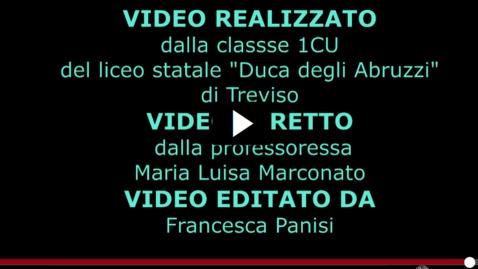 Thumbnail for entry Sc.sec2 grado Liceo duca Abruzzi TV cl. 1C (57V)