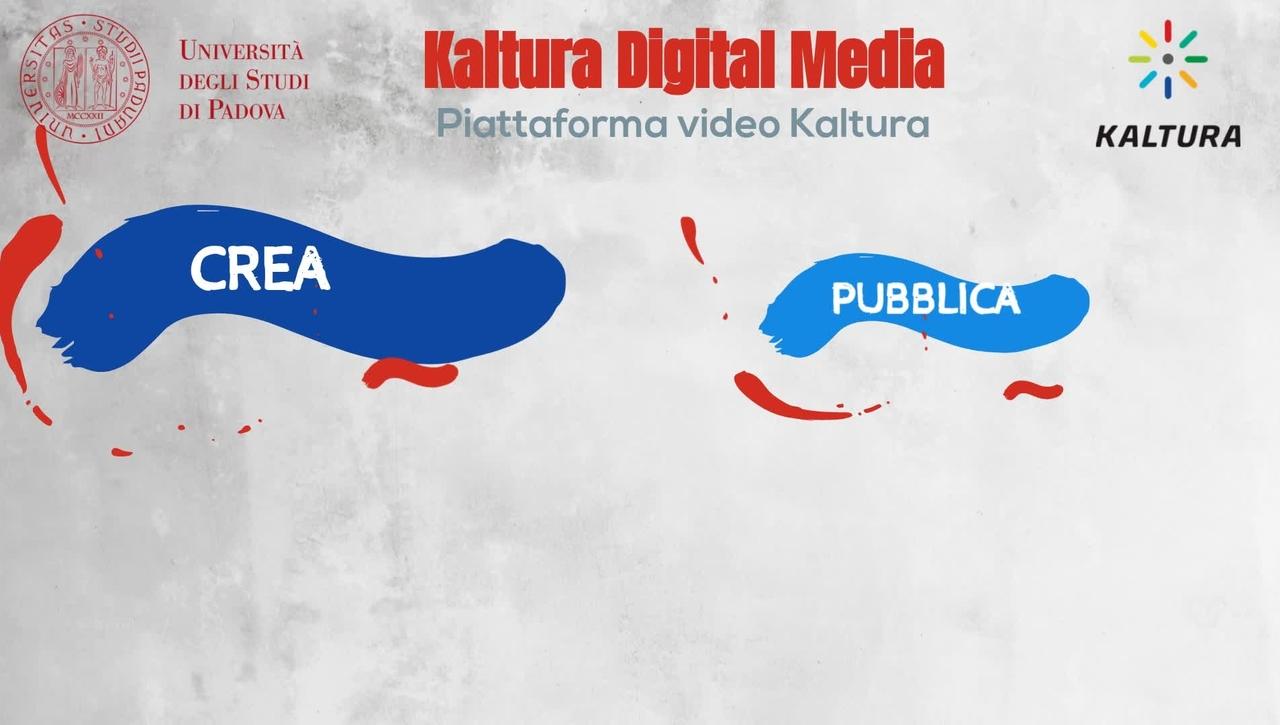 Kaltura digital media - la piattaforma video per l'Università di Padova