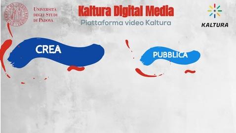 Thumbnail for entry Kaltura digital media - la piattaforma video per l'Università di Padova