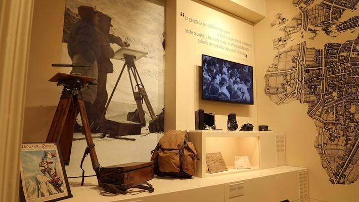 Il museo di geografia