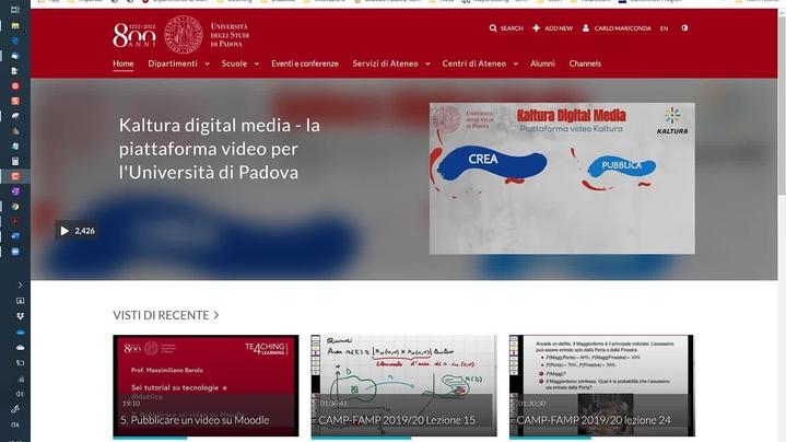 Thumbnail for channel T4L-Tutorial dei change agent Unipd