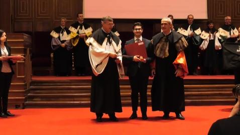 Thumbnail for entry Cerimonia di consegna dei diplomi galileiani (2018)