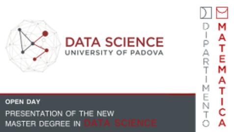 Thumbnail for entry Presentazione CORSO DI LAUREA MAGISTRALE IN DATA SCIENCE 2017/2018