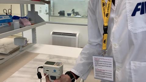 Thumbnail for entry Sviluppo e produzione di materiali innovativi: studio morfologico e chimico di prodotti e superfici (cod. 2105-0057-1463-2019) - video 4