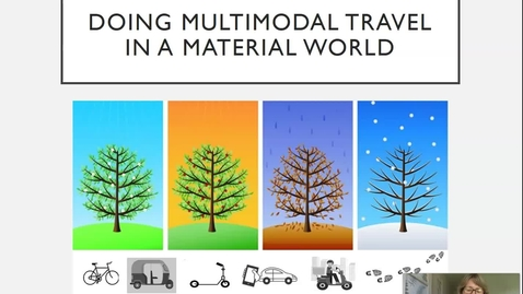Thumbnail for entry S4 - #1 SPURLING_Multimodal travel in a material world