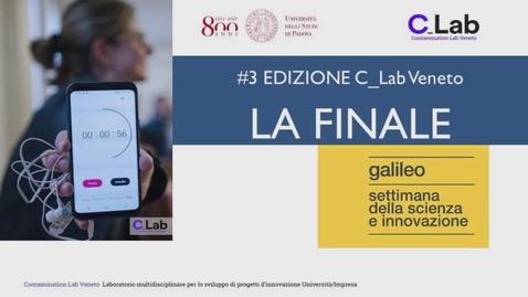 Thumbnail for entry La Finale della 3^ edizione C-Lab