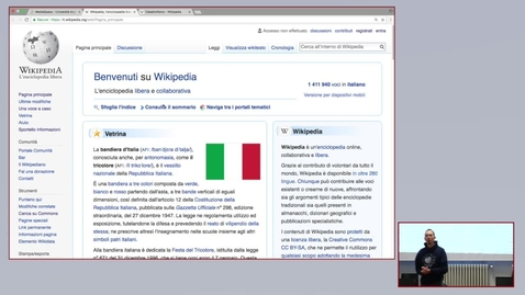 Thumbnail for entry Wikipedia per la didattica - parte 2